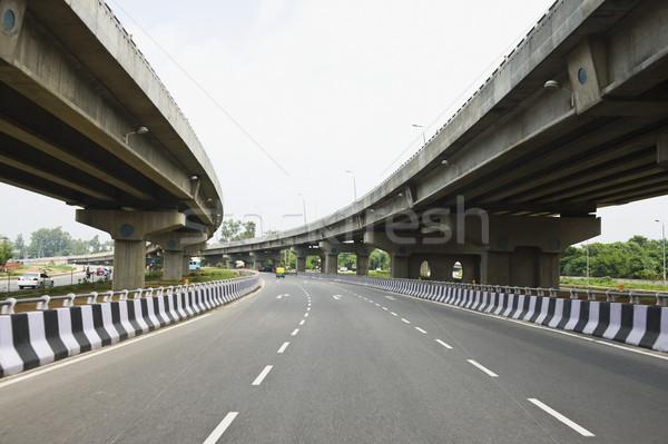 Route autoroute new delhi Inde ciel architecture Photo stock © imagedb