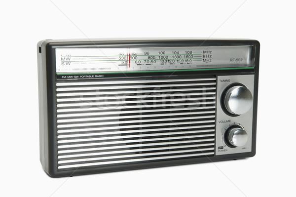 Radyo teknoloji iletişim ses bağbozumu Stok fotoğraf © imagedb