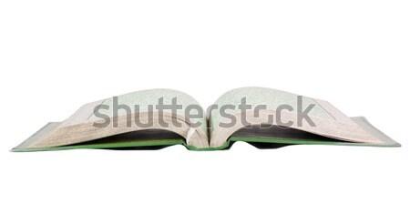 Közelkép vallás iszlám hit vízszintes fehér háttér Stock fotó © imagedb