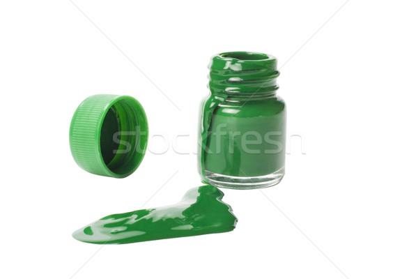 цвета акварель бутылку краской искусства контейнера Сток-фото © imagedb