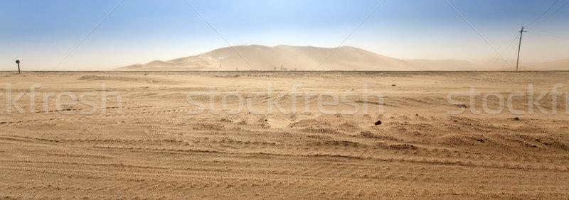 дюна семь Намибия Африка небе пустыне Сток-фото © imagex