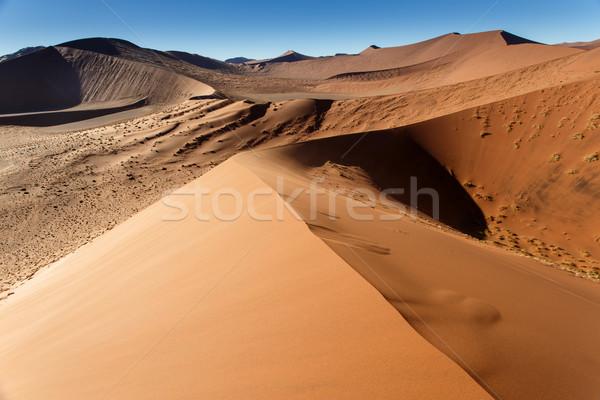 Areia Namíbia paisagem deserto África Foto stock © imagex