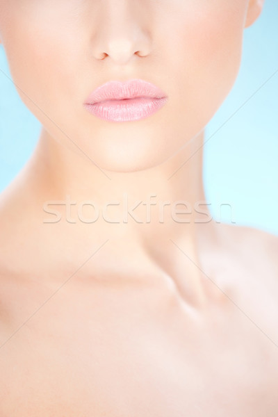 Part of a woman's face Stock photo © imarin