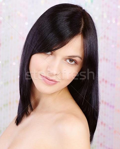 pretty young woman Stock photo © imarin