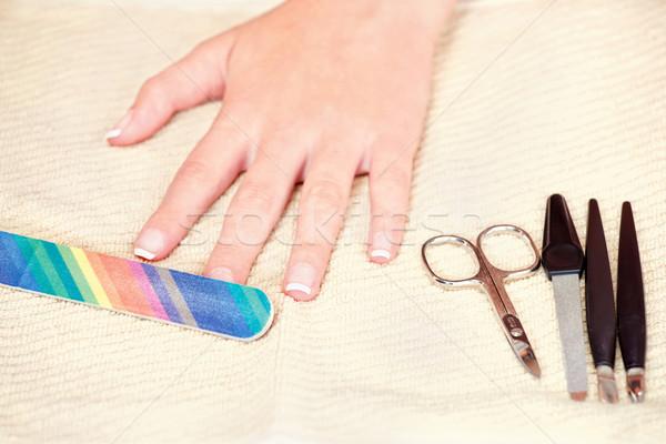 Nails beauty treatment  Stock photo © imarin