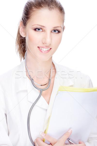 Pretty female doctor Stock photo © imarin