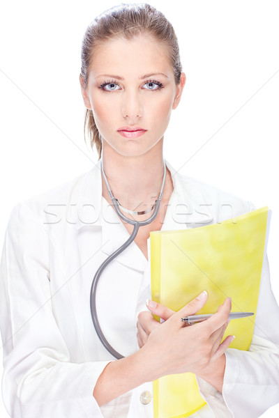 Pretty female doctor Stock photo © imarin