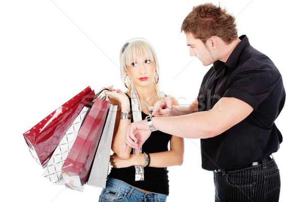 Time at shopping Stock photo © imarin