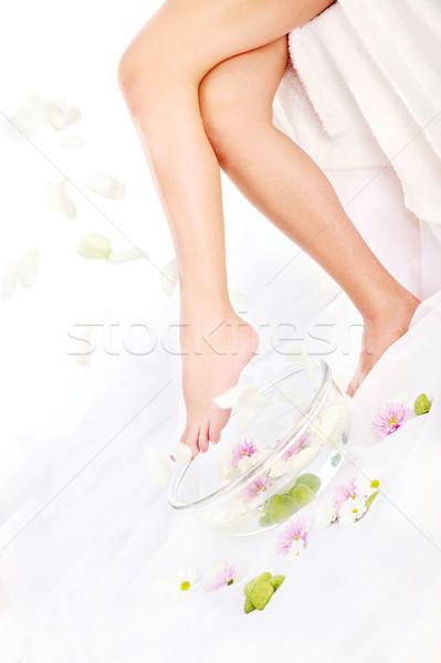 falling petals Stock photo © imarin