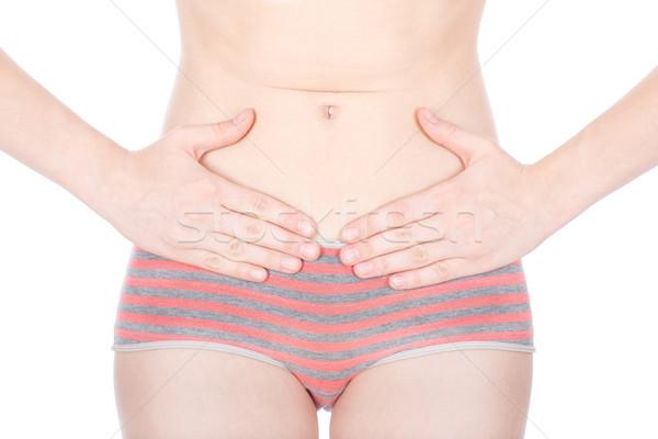 Menstrual pain Stock photo © imarin