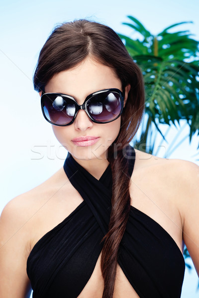 woman with sun glasses Stock photo © imarin