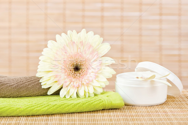 Fresh flower and skin care product Stock photo © imarin