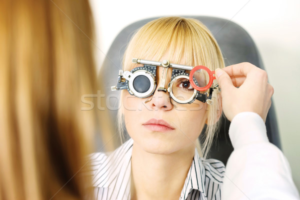 optometrist Stock photo © imarin