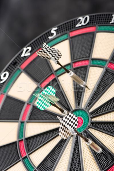 dartboard and arrows Stock photo © imarin