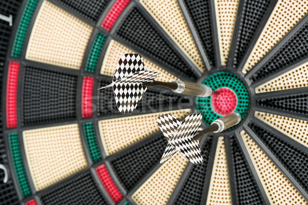 dartboard and two arrows Stock photo © imarin