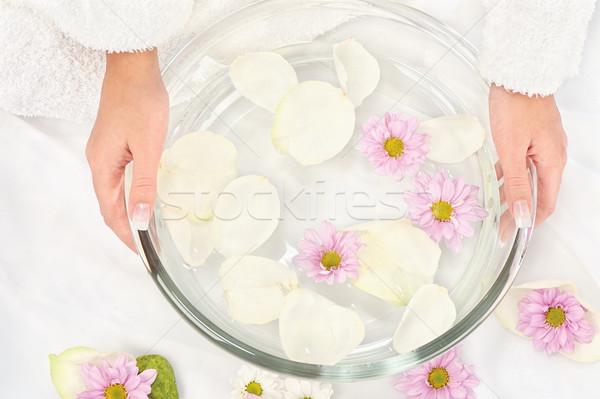 petal bath Stock photo © imarin