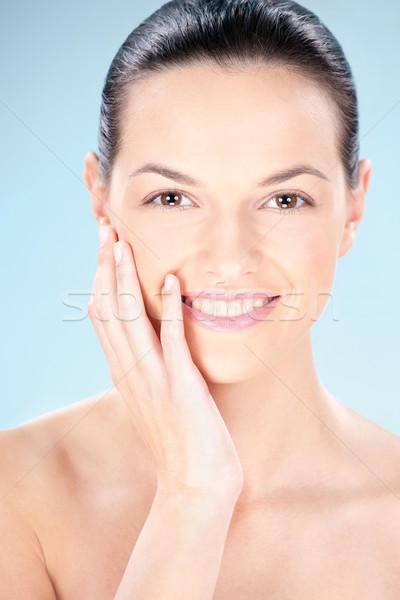 Clean skin woman Stock photo © imarin