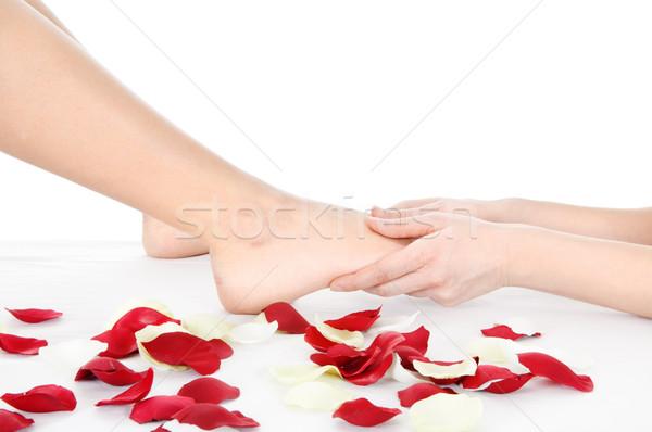 foot massage Stock photo © imarin