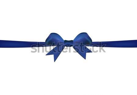 Azul isolado branco papel festa amor Foto stock © impresja26