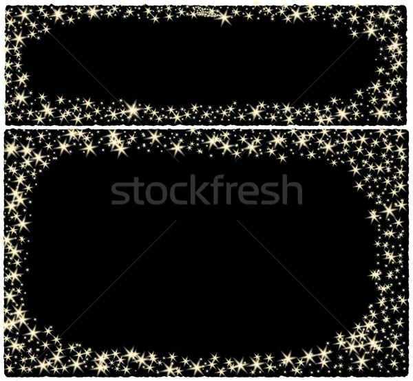 Frame christmas card Stock photo © impresja26