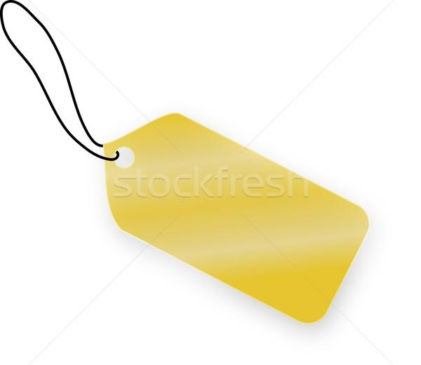 Dourado membro branco compras ouro natal Foto stock © impresja26