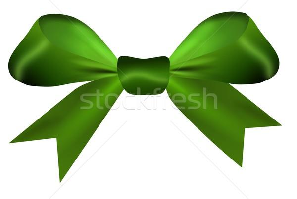 Verde arco isolado branco páscoa amor Foto stock © impresja26