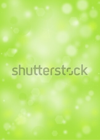 Verde naturalismo bokeh luzes céu textura Foto stock © impresja26
