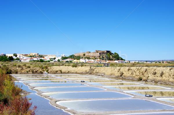 Castro Marim salines, Portugal Stock photo © inaquim