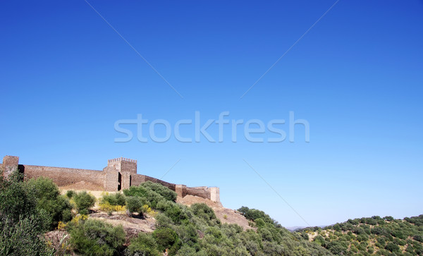 Castle of Noudar, Portugal Stock photo © inaquim