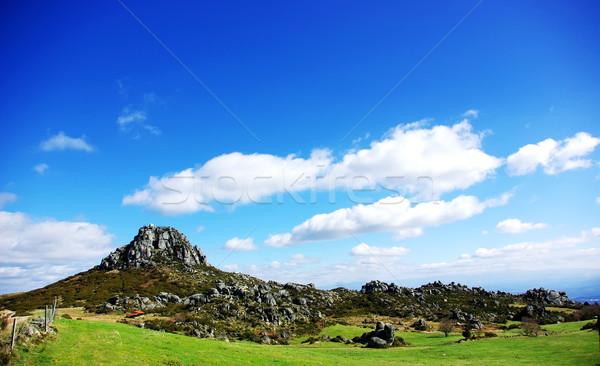 Paisagem montanha Portugal natureza viajar rocha Foto stock © inaquim