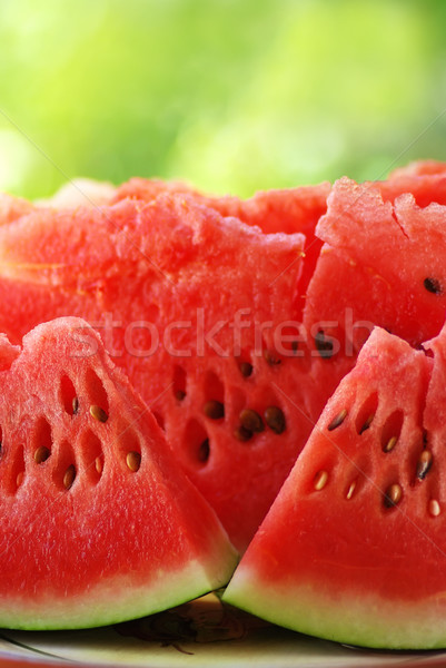 slices of red watermelon  Stock photo © inaquim