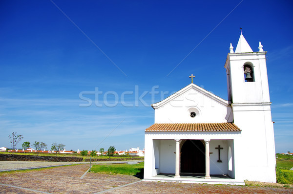 Church of Luz village, Portugal. Stock photo © inaquim