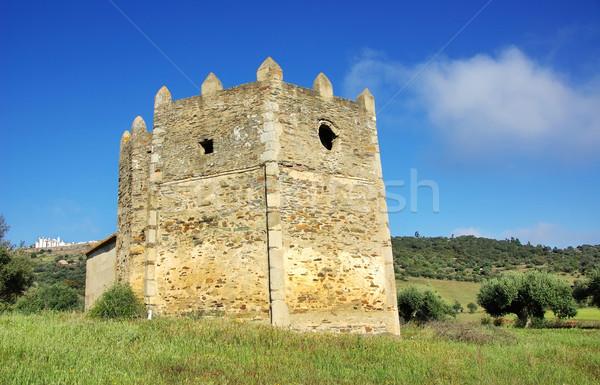 Old hermitage of Santa Catarina , Monsaraz. Stock photo © inaquim