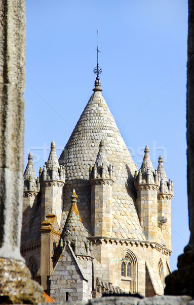 塔 大聖堂 ポルトガル 壁 太陽 夏 ストックフォト © inaquim