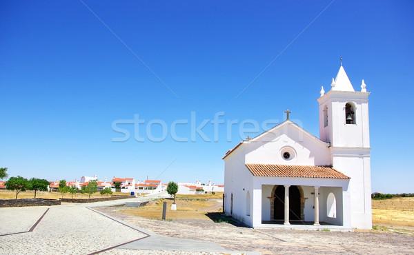 Church in Luz village, Portugal.  Stock photo © inaquim