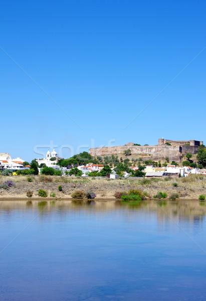 Landscape of Castro Marim, Portugal  Stock photo © inaquim