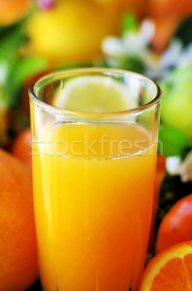 Natural orange juice Stock photo © inaquim