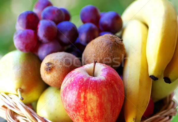 basket with fruits Stock photo © inaquim