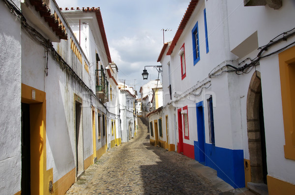 street of the city of Evora - Alentejo, Portugal Stock photo © inaquim