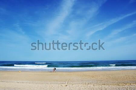 blue sea in Barril Beach, Tavira,Algarve Stock photo © inaquim
