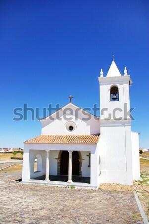Igreja aldeia Portugal região casa atravessar Foto stock © inaquim