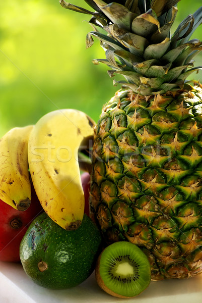 pineapple and fruits. Stock photo © inaquim