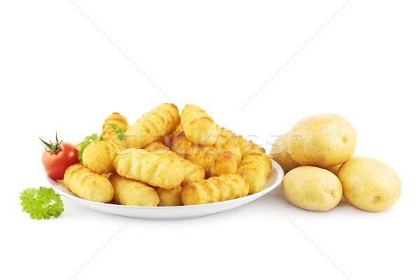 Potato croquettes Stock photo © IngaNielsen