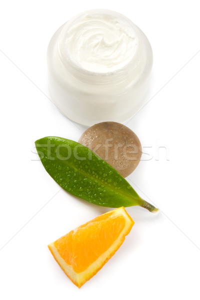 Face cream with vitamins Stock photo © IngaNielsen