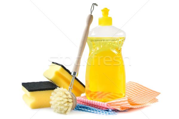 Dishwashing detergent Stock photo © IngaNielsen