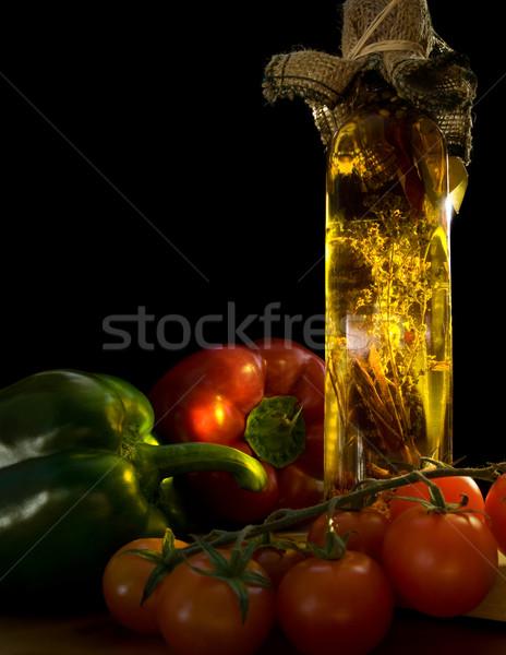 Italian food ingredients Stock photo © IngaNielsen