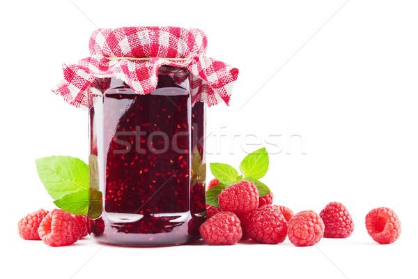 Raspberry jam Stock photo © IngaNielsen