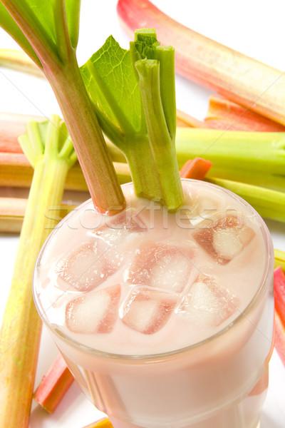 Ravent sağlıklı yaz içmek diyet sopa Stok fotoğraf © IngaNielsen
