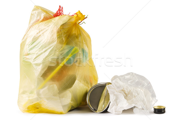 Garbage bag Stock photo © IngaNielsen