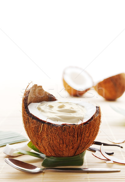 Coconut dessert Stock photo © IngaNielsen